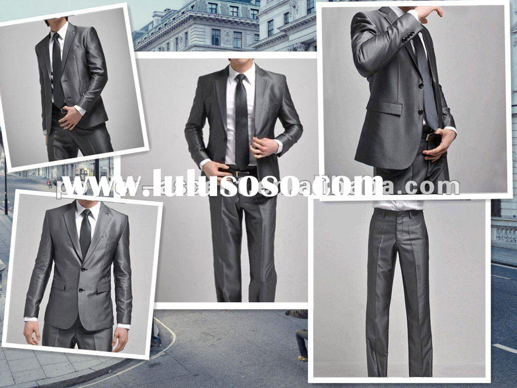 2pcs men business dress suit 2012 suits for men
