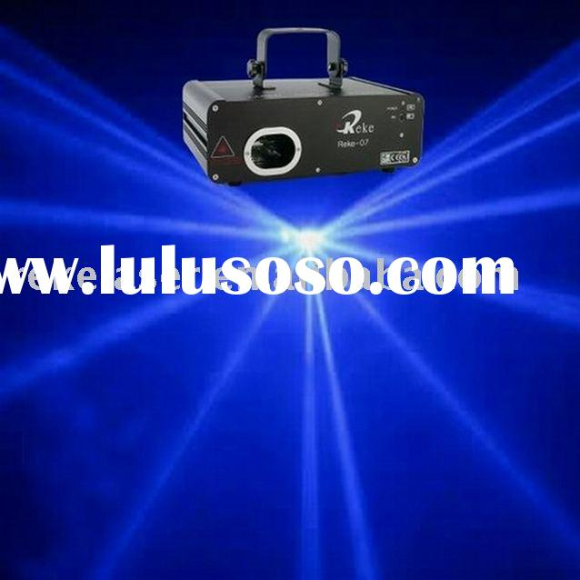 300mw blue stage laser light show system with sound,auto and dmx