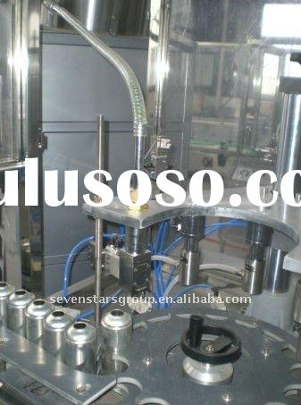 3600cans/hour Automatic spray paint filling machine