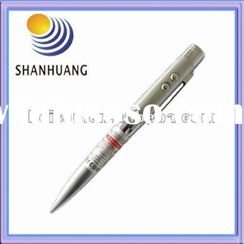 3-in-1 multifunction red Laser Pointer Pen