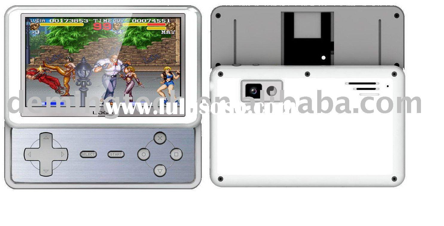 """4.3"""" TFT Screen games Mp4 Player with TV OUT and Camera, support 8/16/32/64 BIT NES/GBA game"""