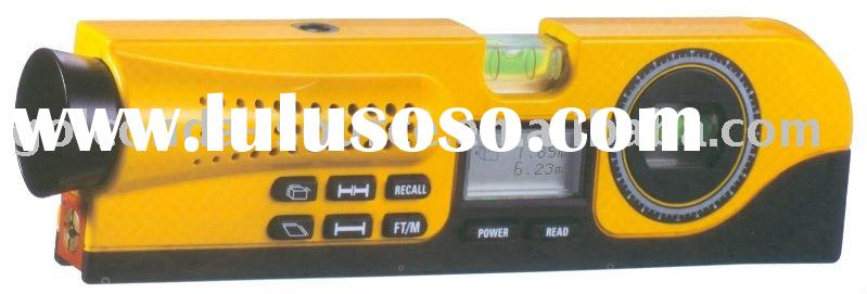 4-IN-1 MEASURER ULTRASONIC RANGE FINDER LEVEL AND ANGLE METER WITH LASER (GS-5481D)