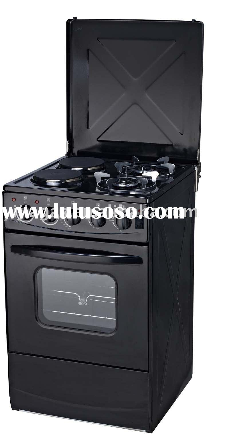 4 burner gas stove with gas oven (JK-04MMSE-2E)