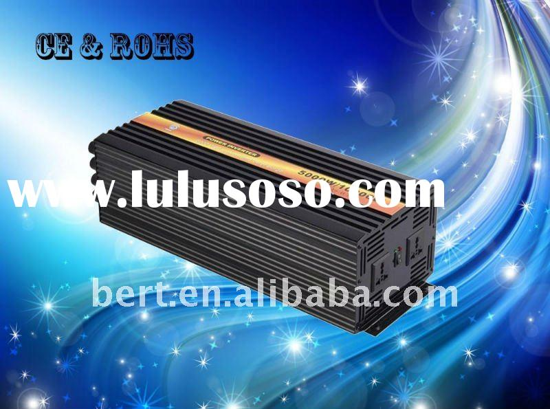 5kw DC24V/AC110V pure sine wave solar power inverter,CE approved,1 year warranty.