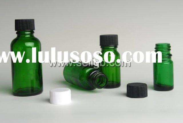 5ml,10ml,15ml,20ml,30ml,50ml,100ml green glass vial,glass bottles with pp cap