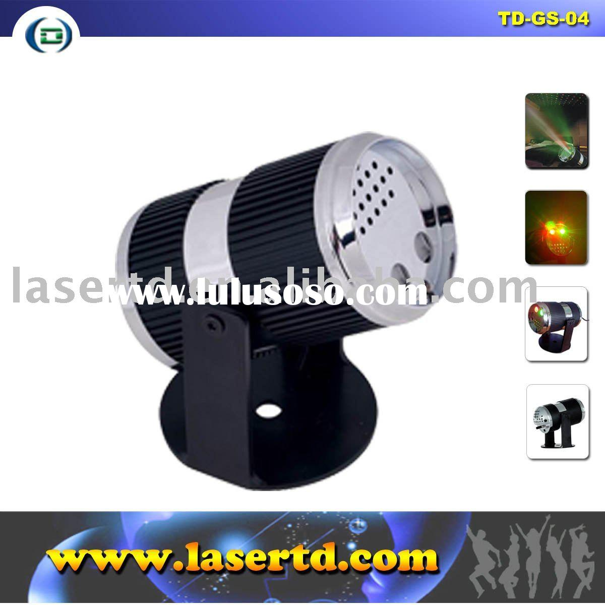 650nm 532nm Red+ green mini laser stage light projector
