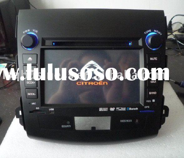 7'' C-crosser car dvd with digital screen/Bluetooth/Radio/IPOD/GPS; 3D OSD interface