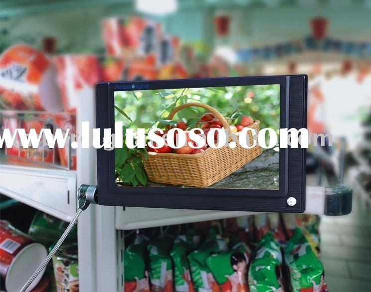 "7"" Retail Store, In-store marketing ad Player, Ad TFT, Advertisement Displayers."