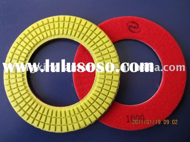 "7"" diamond floor polishing pad for wet use"