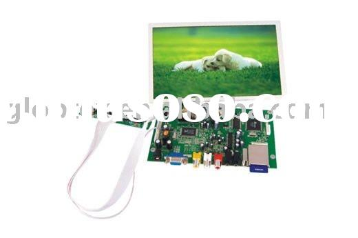 8.9 inch TFT LCD SKD module monitor with SD/MMC card support