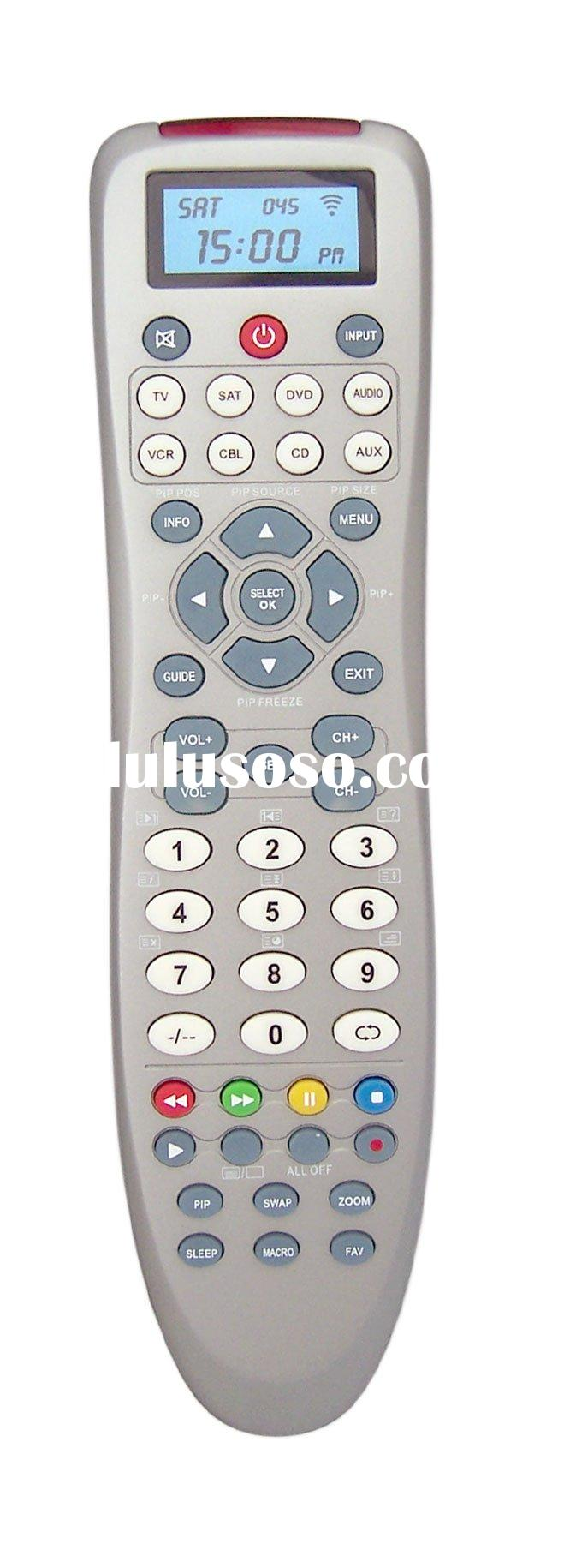 8 in 1 universal remote control with backlight LCD