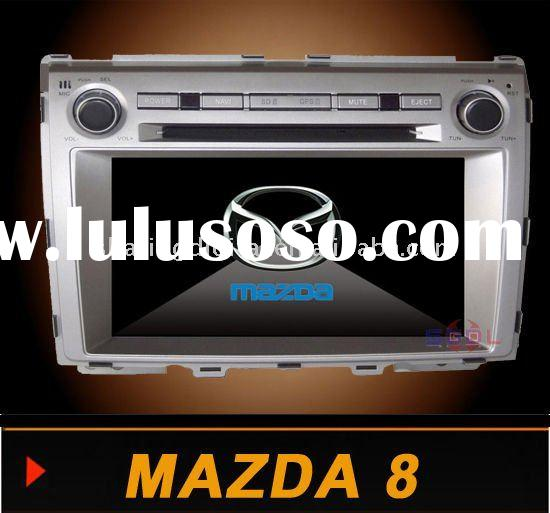 8inch HD Touch screen car audio player with gps bluetooth CANBUS for MAZDA 8