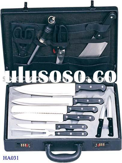ABS Handle Knife Set with Case