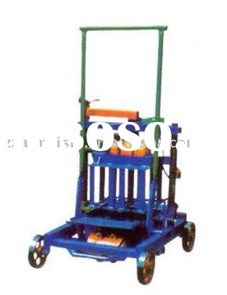 AMS-2 Mobile Cement hollow brick making machine