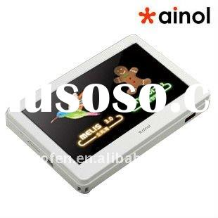 Ainol V5000HDR Android 2.3 + MELIS 3.0 dual so mp3 mp4 player 4.3 inch 768P, 4GB
