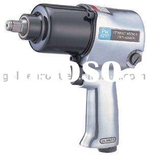 Air Impact Wrench Twin Hammer Type, Pneumatic Impact Wrench, Professional Impact Wrench