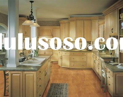 American cherry wood kitchen cabinets