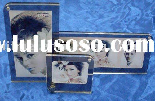 Anique acrylic magnet photo/picture frame