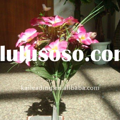 Artificial orchid flower stems