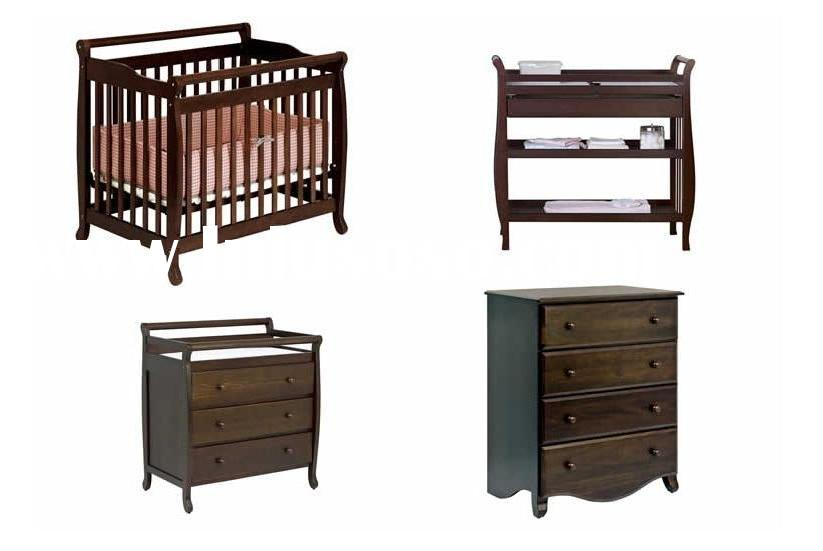 Baby wooden room set|bedroom|nursery furniture