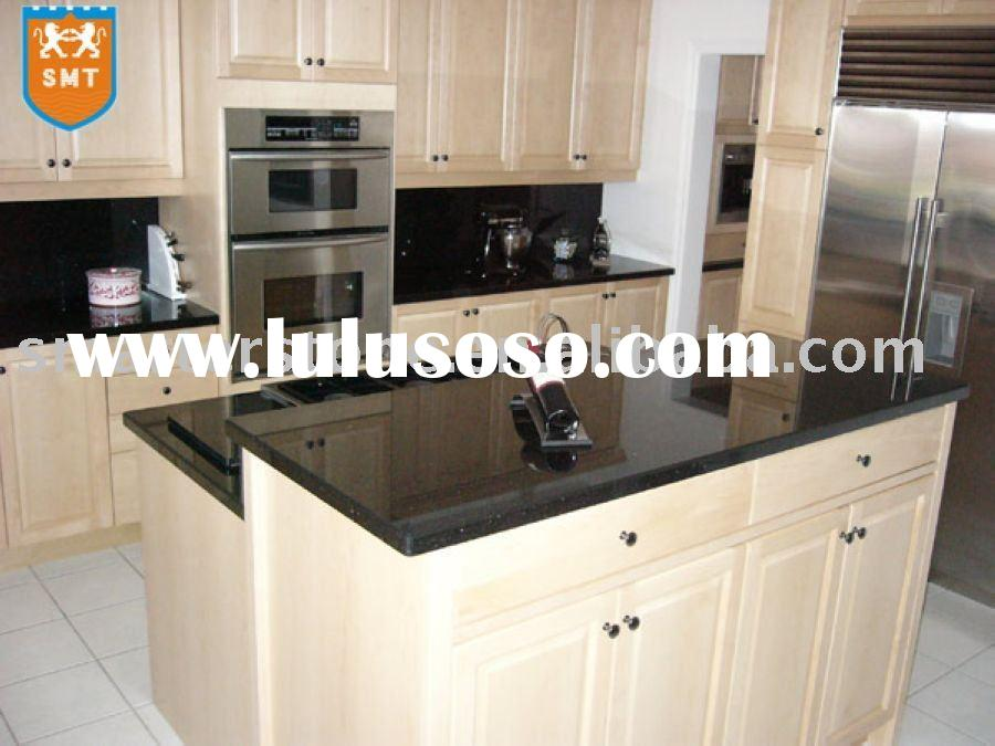 White galaxy granite countertops memes for White kitchen cabinets with black galaxy granite
