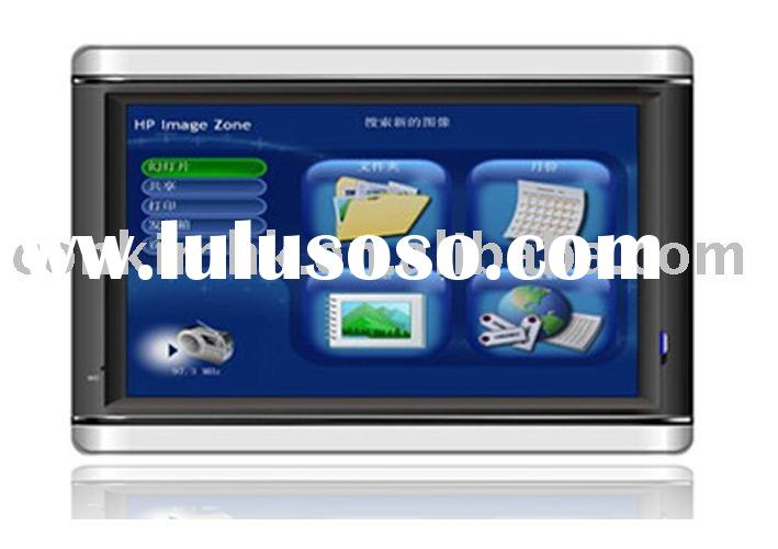 Blue GPS, GPS Navigation System, GPS Receiver+Bluetooth+FM+MP4 Player+Video Player, Vehicle GPS Trac