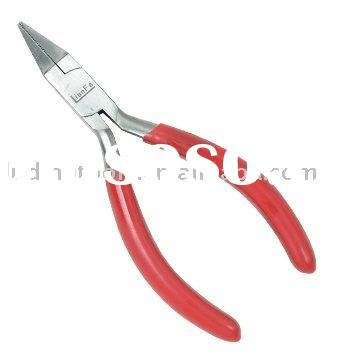 Box Joint Flat Nose Jewellery Pliers with Teeth