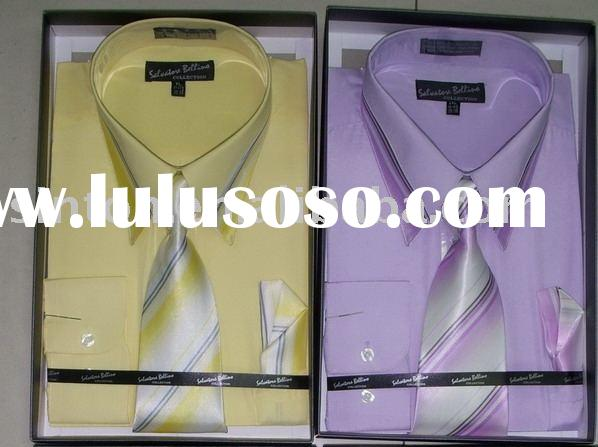 Box Packing Mens Long Sleeve Dress Shirt