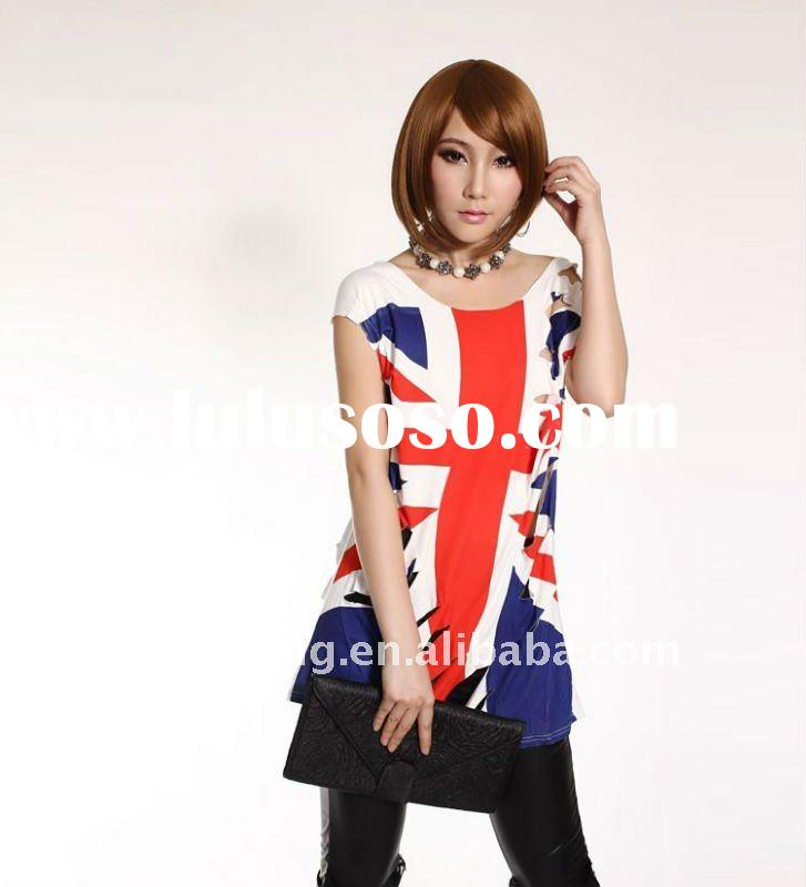 British Wind ,ladies' T-shirts, beautiful t shirt ,Cut style T-shirt,