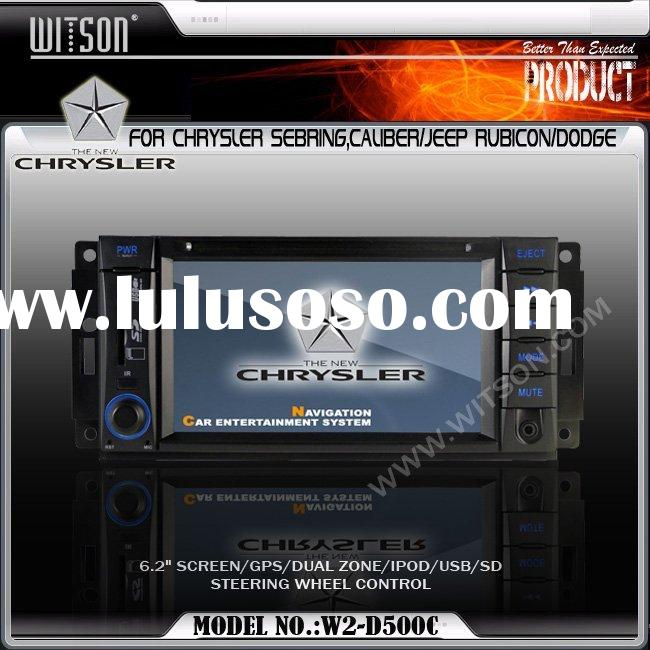 CAR DVD PLAYER WITSON CAR DVD PLAYER for CHRYSLER SEBRING,CALIBER/JEEP RUBICON/DODGE with Built-in G