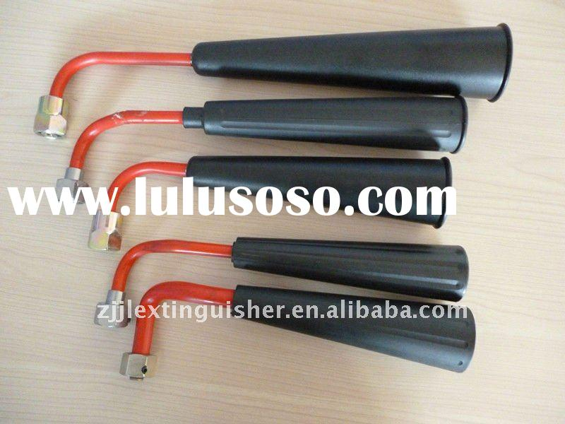 CO2 fire extinguisher hose&horn,nozzle;fire fighting equipment