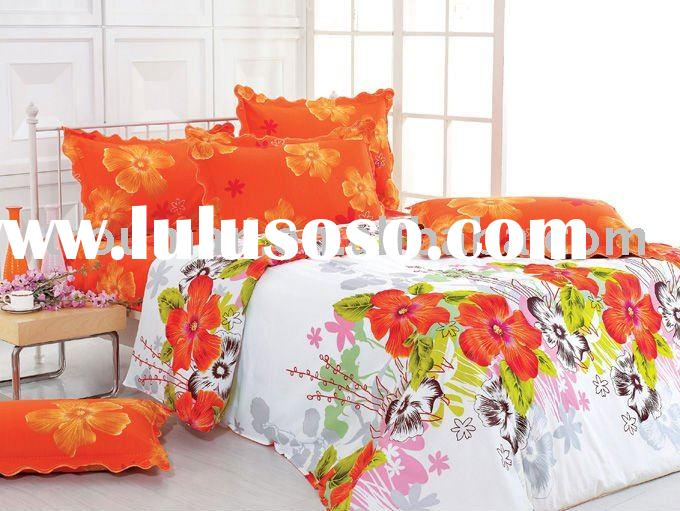 COTTON AND SILK BEDDING SET