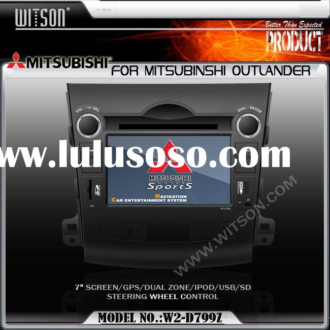 Car DVD GPS WITSON Car DVD Player for MITSUBISHI OUTLANDER with Built-in GPS