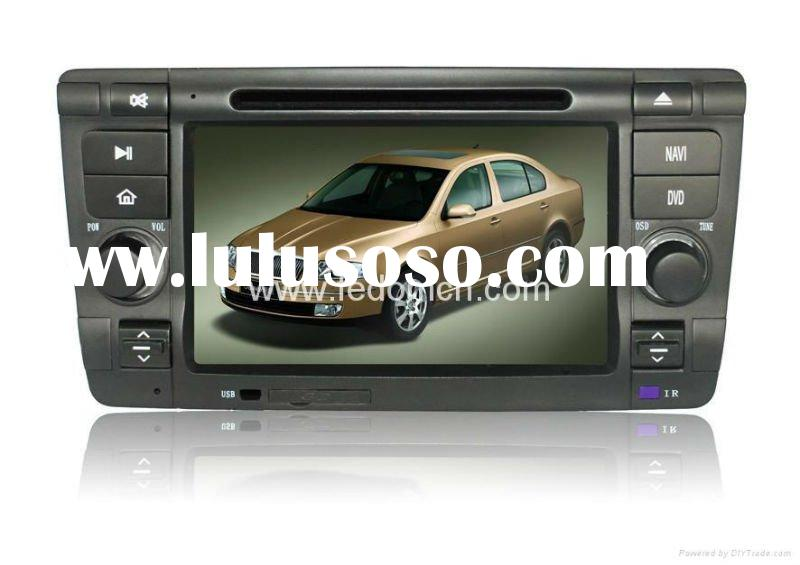 Car DVD Player with GPS Navigation for Skoda Octavia+FM/AM RDS+Bluetooth+iPod+map+games+notebook+fre