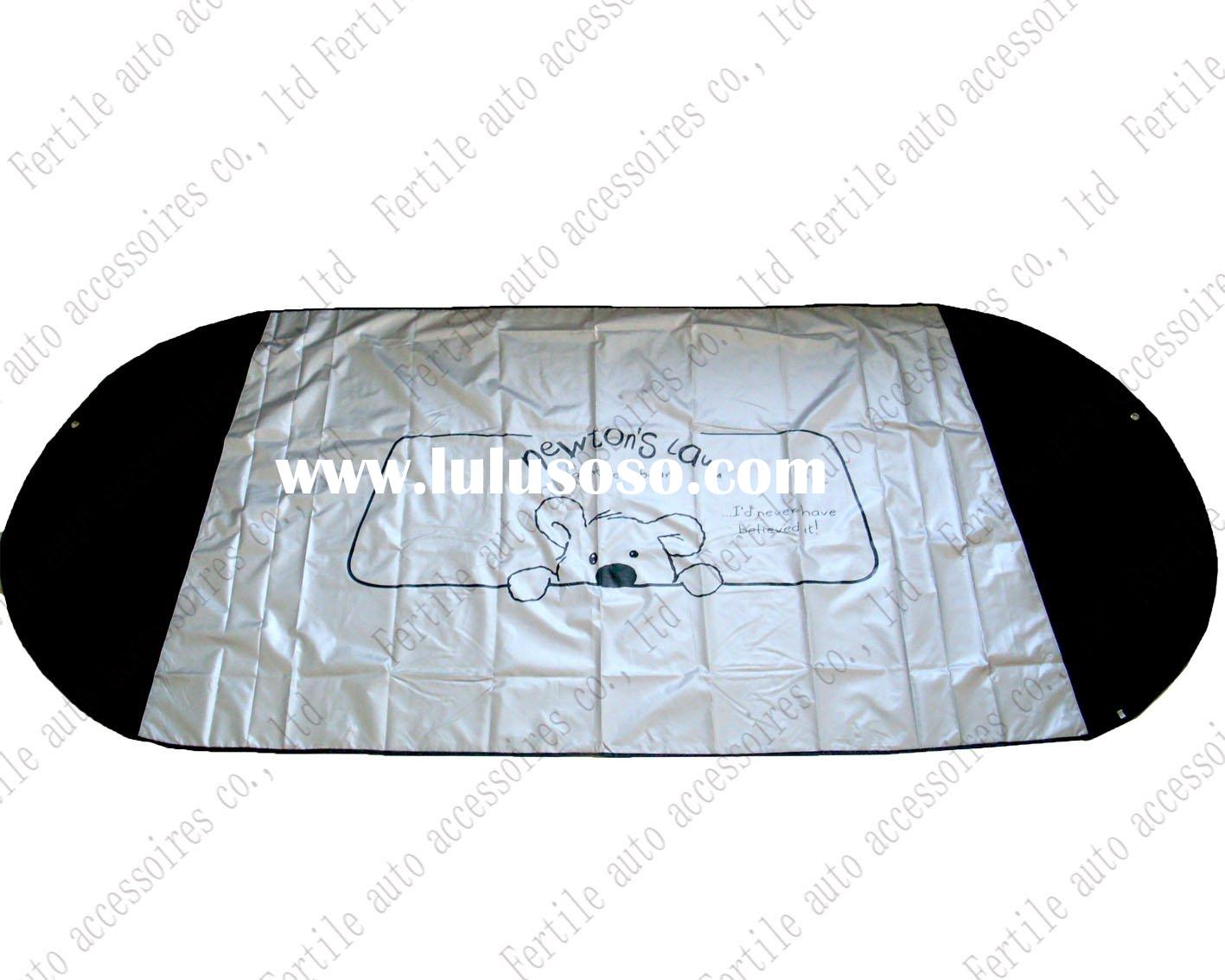 Car front window cover