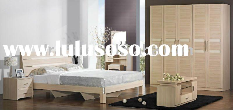Cheap modern bedroom furniture set