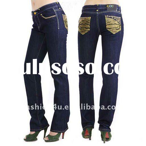 Cheap sale brand blue denim jeans