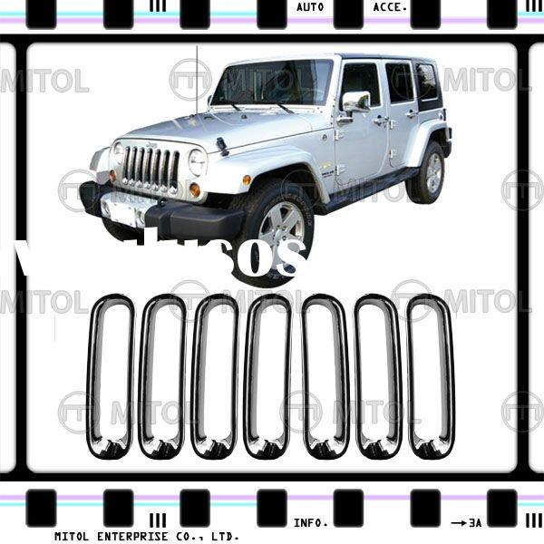 Chrome Car Grille Frame For Jeep WRANGLER, Auto Accessories