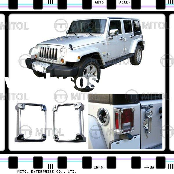 Chrome Tail Light Cover For Jeep WRANGLER, Auto Accessories