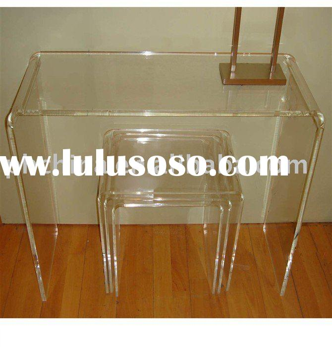 Clear Acrylic Desk,Acrylic Chair,Acrylic Furniture