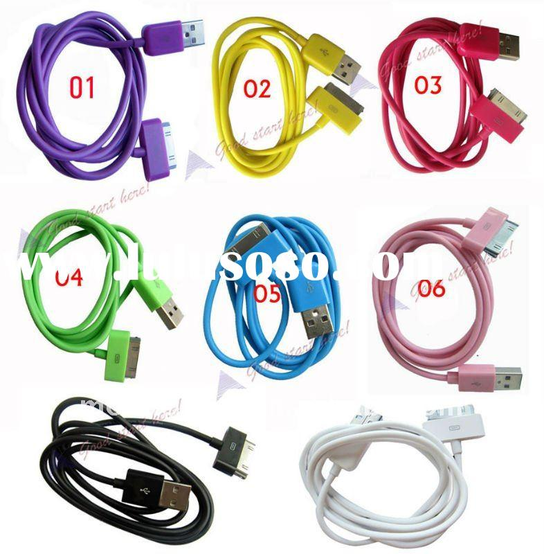 Color USB Data Cable for Iphone Ipod Ipad