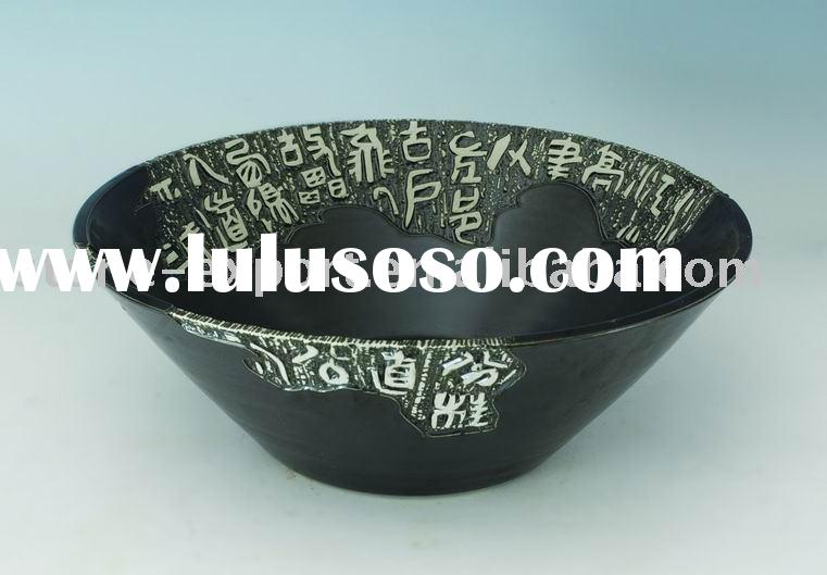 Colored drawing ceramic sink,china art bowl, ceramic sinks, porcelain sink