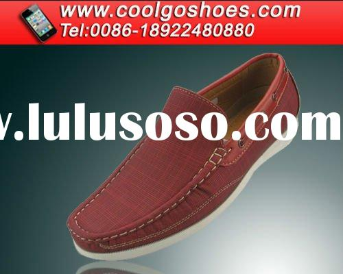 Coolgo 2012 Red Slip On Fashion Shoes Online for men