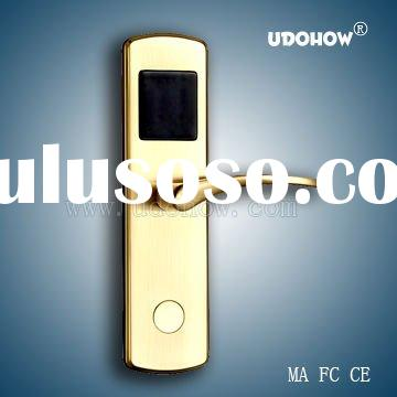 Copper Radio Frequency Card Hotel Electronic Handle Door Lock