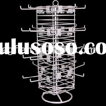Counter Top Wire Rotating Jewelry Display Stand