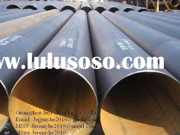 DIN EN 10219 S355jrh Carbon ERW Welded Steel Pipes