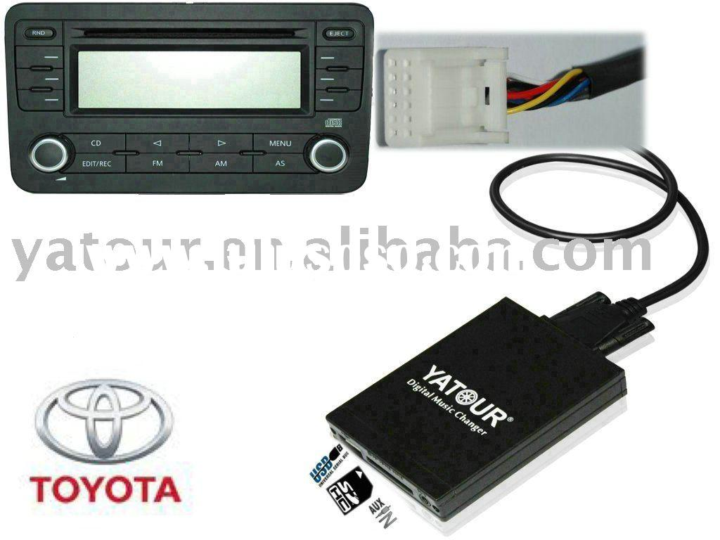 DMC USB MP3 interface for toyota navi XM radio (car cd changer adapter)
