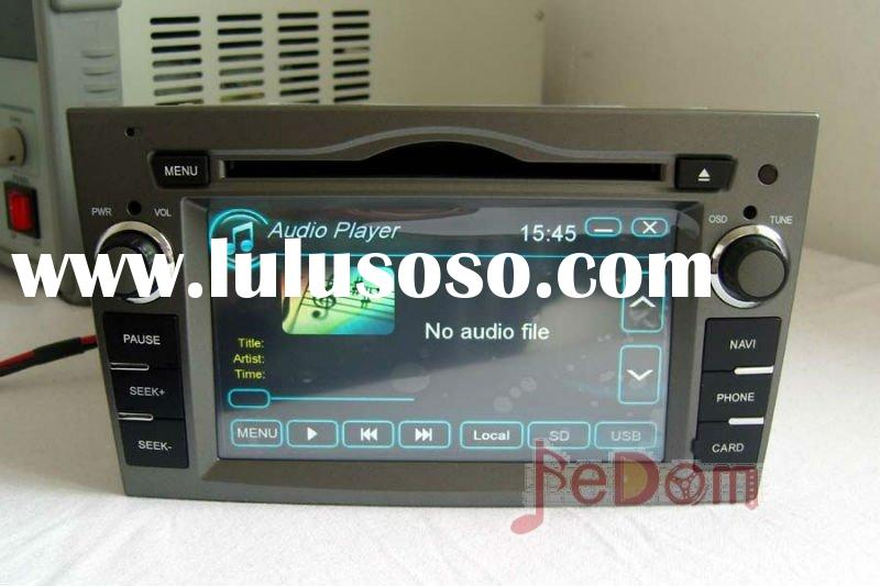 DVD player, GPS tracker, Car Audio, Bluetooth, iPod, RDS for Opel Zafira/Meriva/Corsa