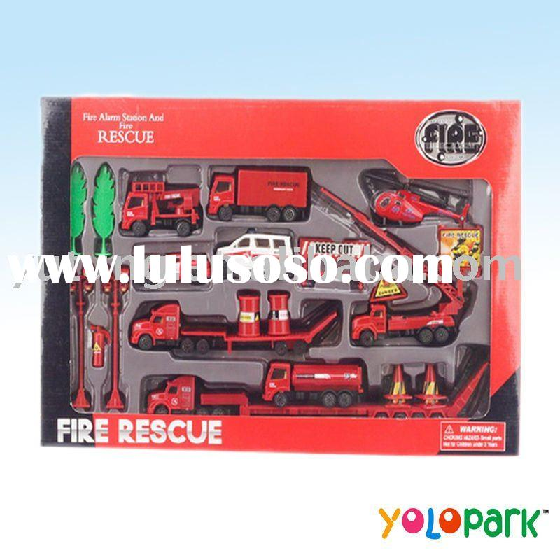 Diecast toy,Toy TruckDiecast Truck,,Diecast model toy,Diecast Fire Set