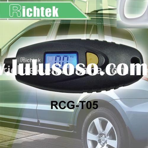 Digital tire gauge (RCG-T05), (mini tire pressure gauge, tyre tools, car accessories, auto parts/equ